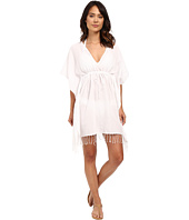 LAUREN Ralph Lauren - Fringed Cotton Tunic Cover-Up