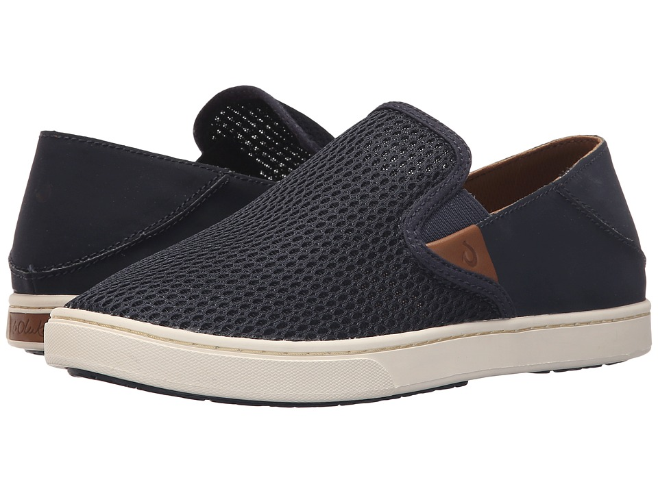 OluKai Pehuea (Trench Blue/Trench Blue) Slip-On Shoes
