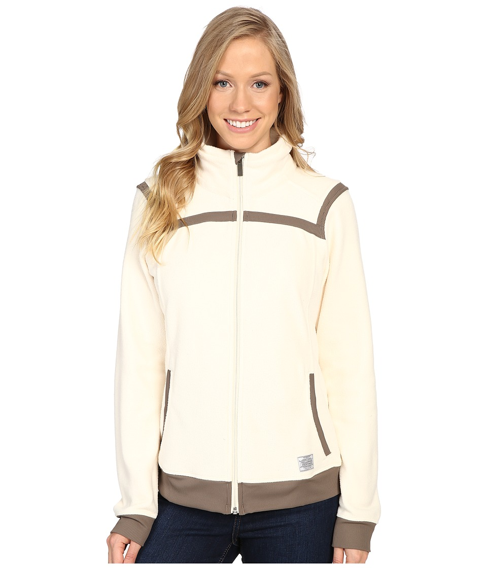 Toad&Co Bear Creek Fleece Jacket (Polar Bear) Women