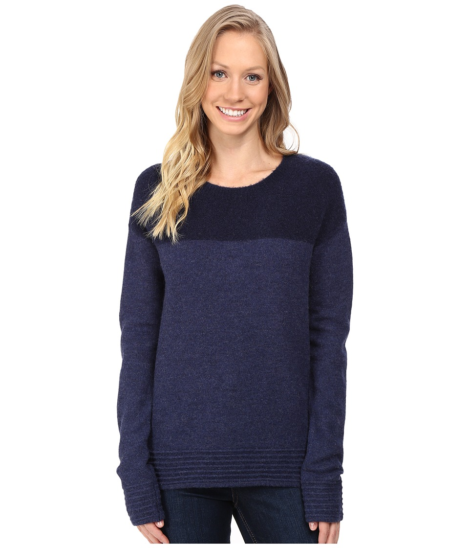 Toad&Co Kaya Crew Sweater (Deep Navy) Women