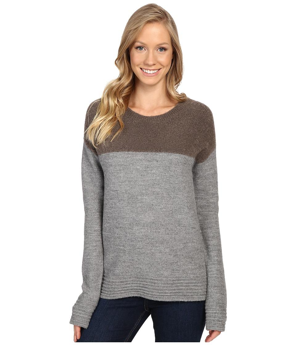 Toad&Co Kaya Crew Sweater (Heather Grey) Women