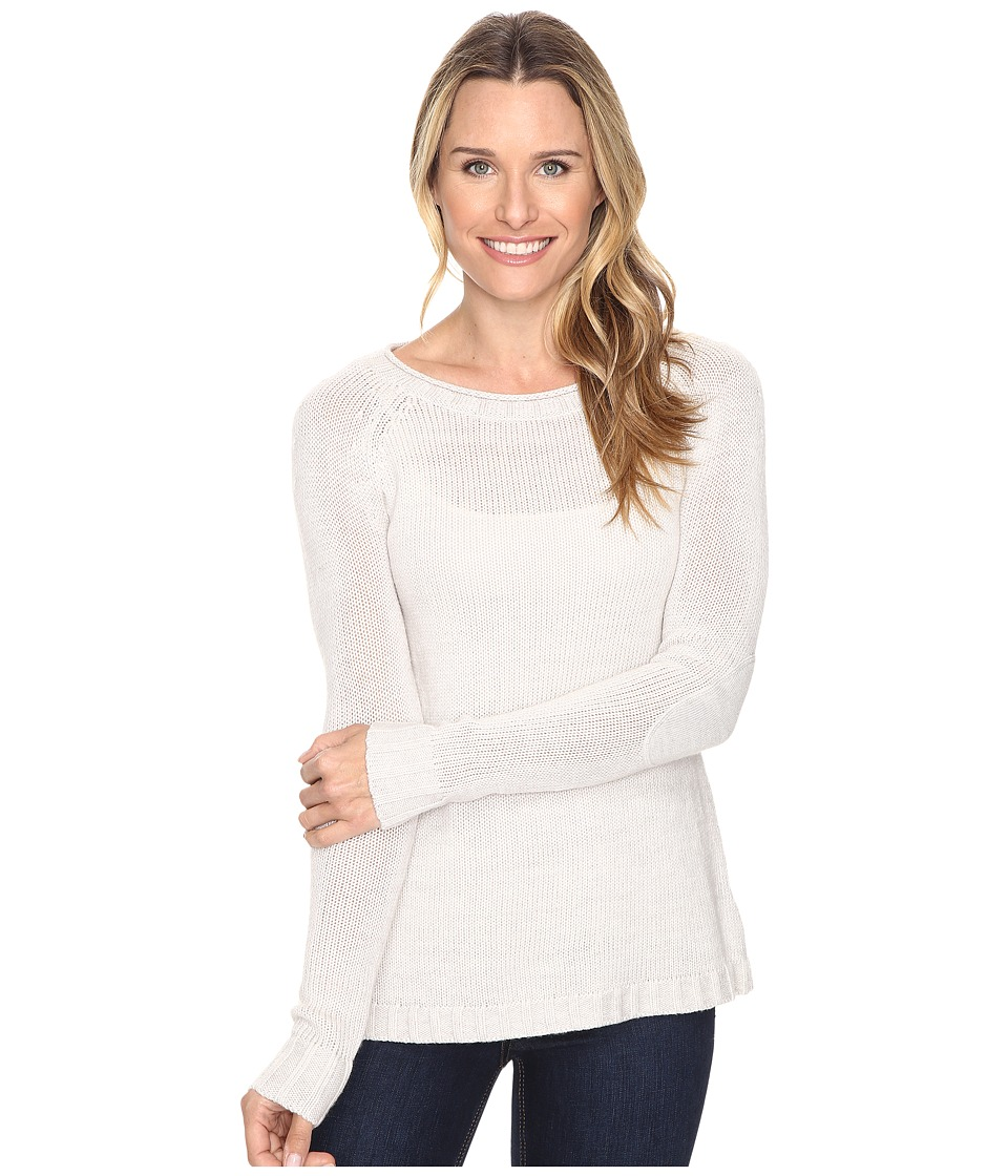 Toad&Co Marlevelous Pullover (Polar Bear) Women
