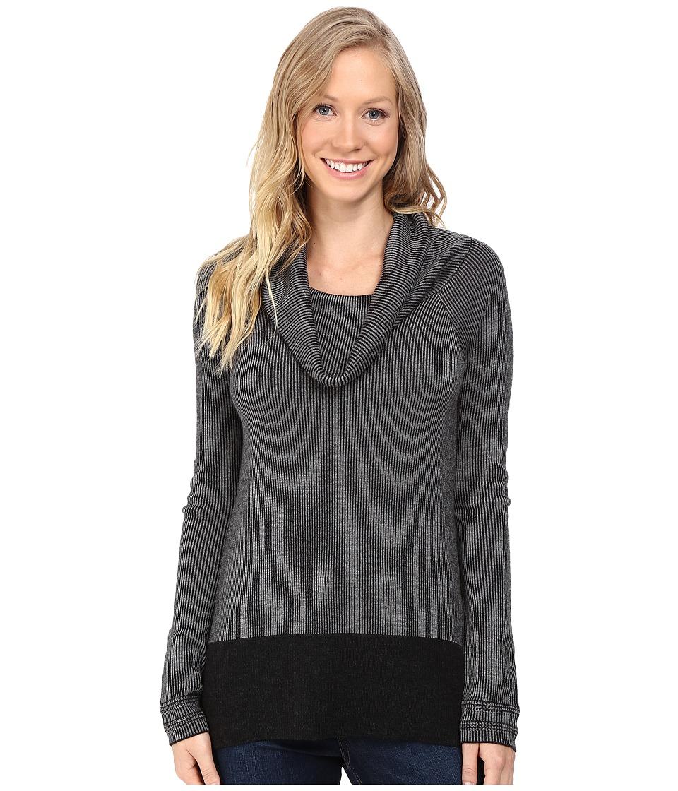 Toad&Co Uptown Sweater (Black Heather) Women