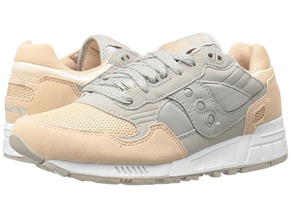 Saucony Originals - Shadow 5000 (Grey/Light Pink) Womens Classic Shoes