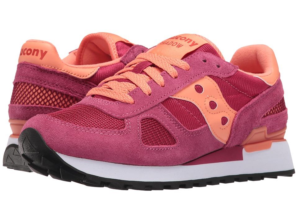 Saucony Originals - Shadow Original (Cerise) Womens Classic Shoes