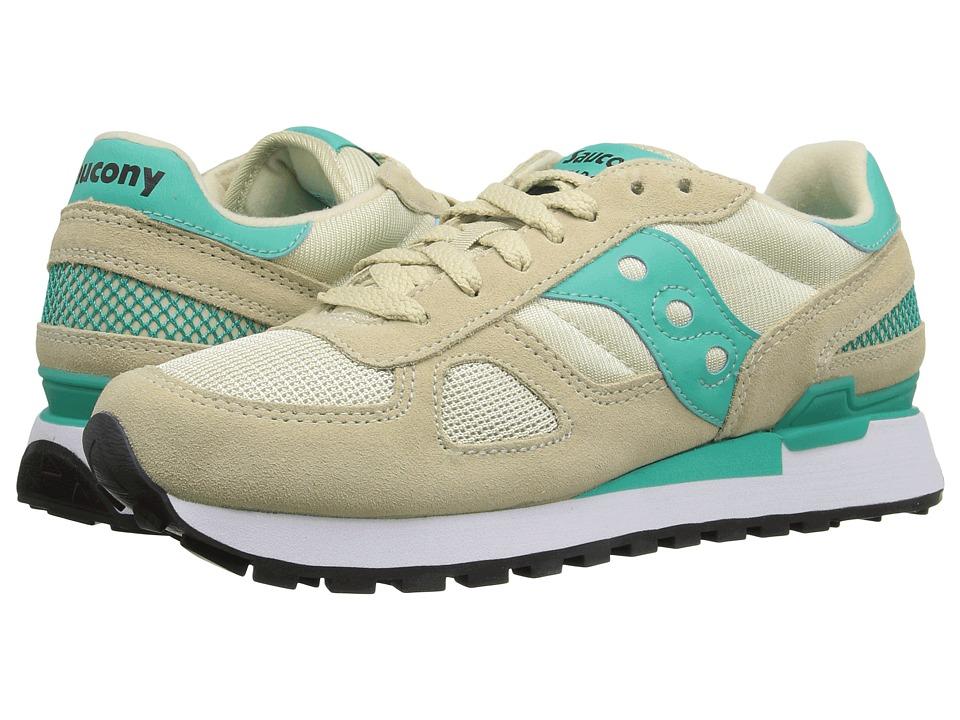 Saucony Originals - Shadow Original (Sand/Capri) Womens Classic Shoes