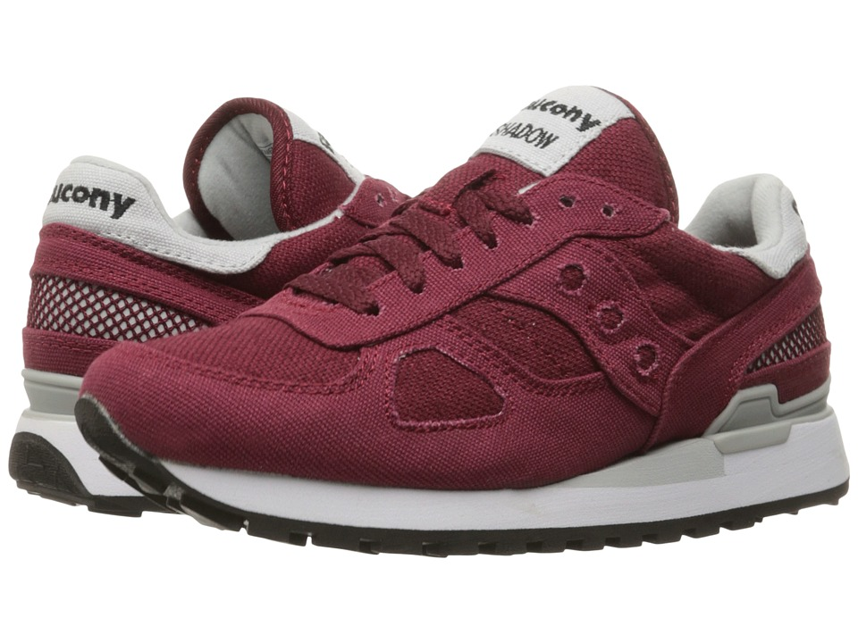 Saucony Originals - Shadow Vegan (Burgundy) Women
