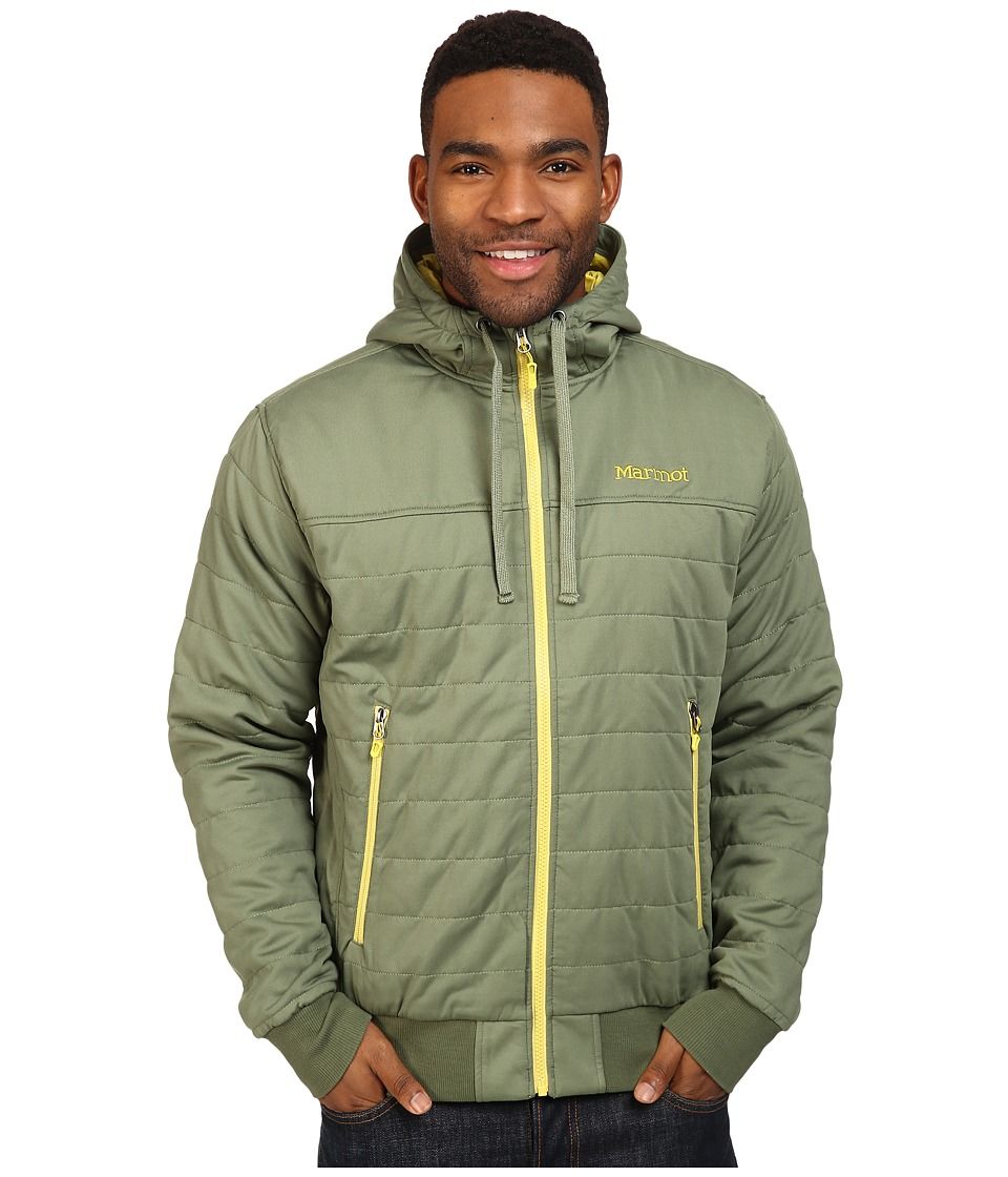 Marmot - Summit Rock Insulated Hoodie (Stone Green) Men