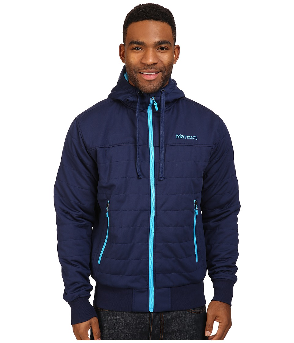 Marmot - Summit Rock Insulated Hoodie (Arctic Navy) Men