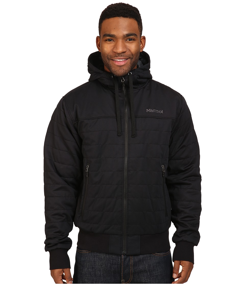 Marmot - Summit Rock Insulated Hoodie (Black) Men
