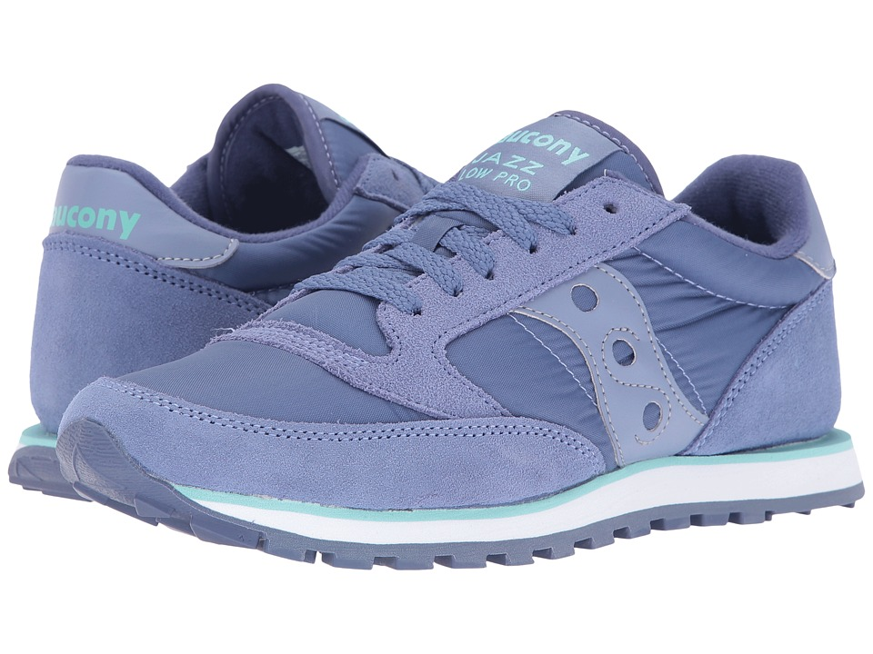 Saucony Originals Jazz Low Pro (Periwinkle) Women's