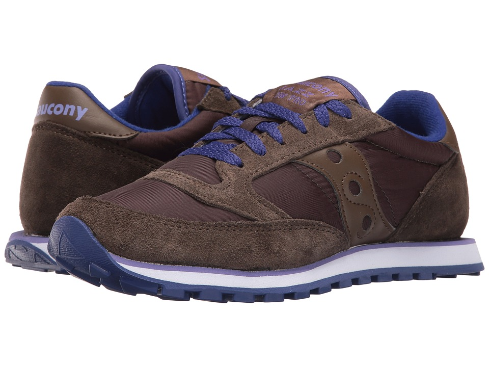 Saucony Originals Jazz Low Pro (Brown) Women's