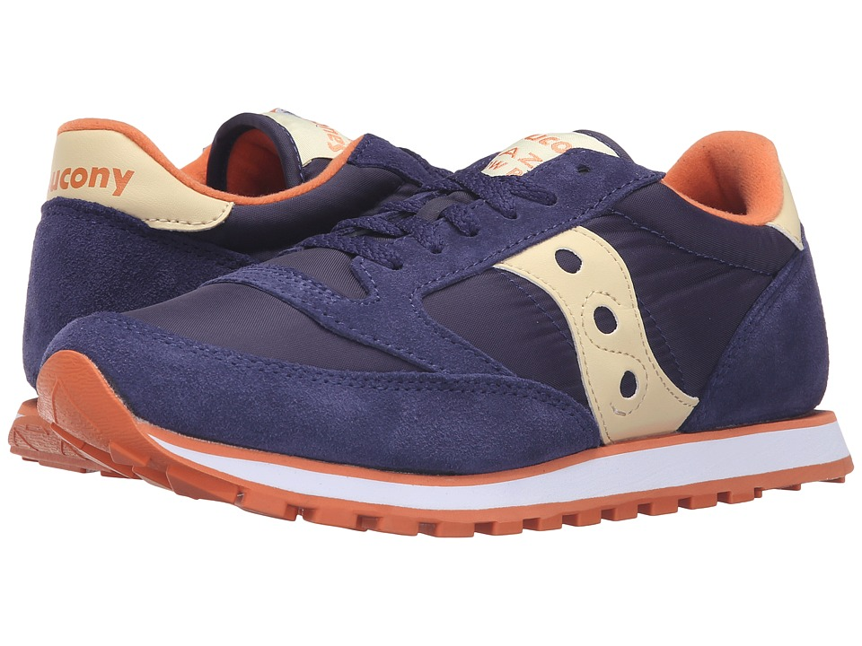 Saucony Originals Jazz Low Pro (Blue/Cream) Women's