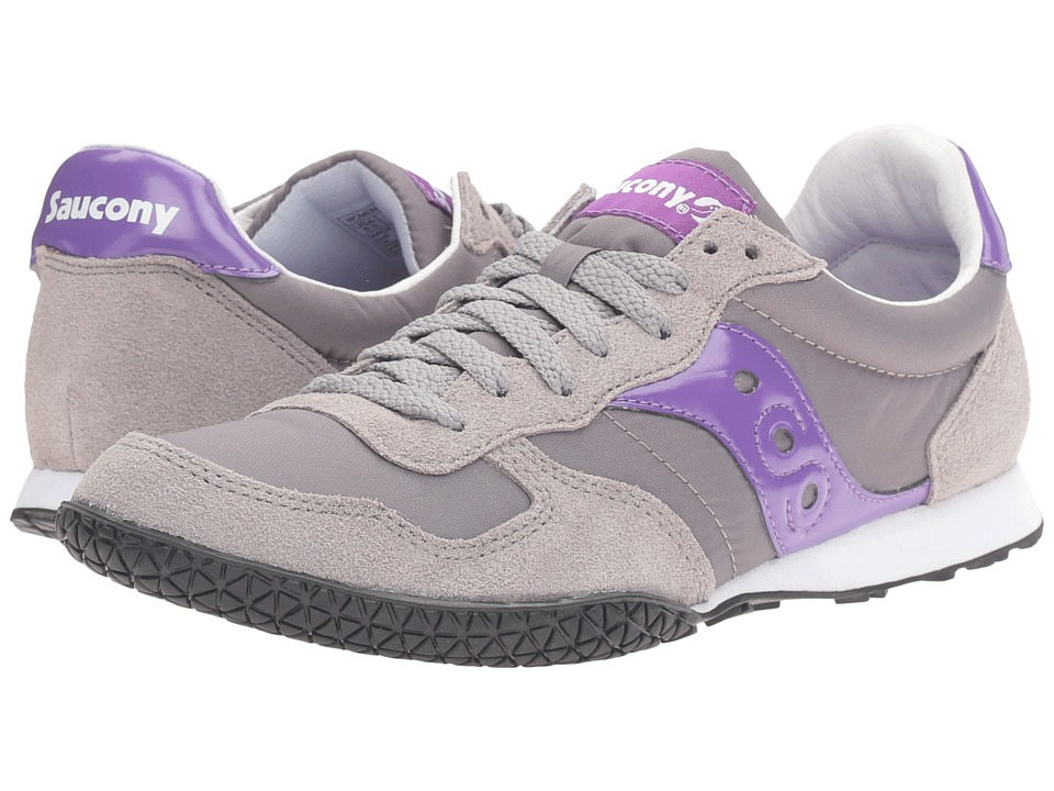 Saucony Originals Bullet (Grey/Purple 1) Women's