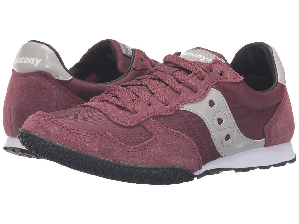 Saucony Originals Bullet (Burgundy) Women's Classic Shoes