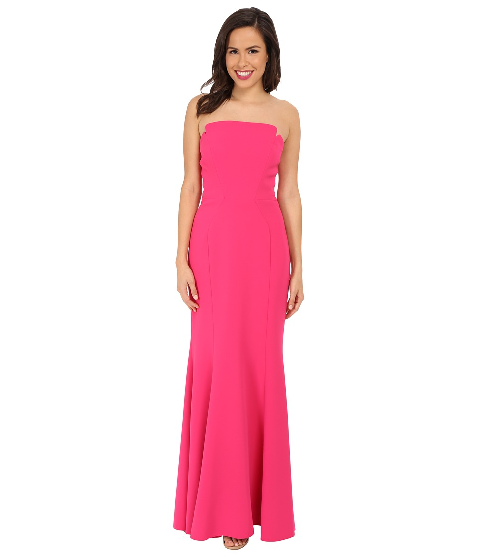 JILL JILL STUART - Harlow Strapless Hourglass Gown (Peony) Womens Dress