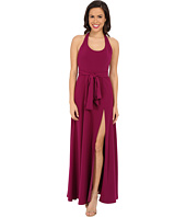 JILL JILL STUART - Sleeveless Scoop Neck T-Back Crepe Gown