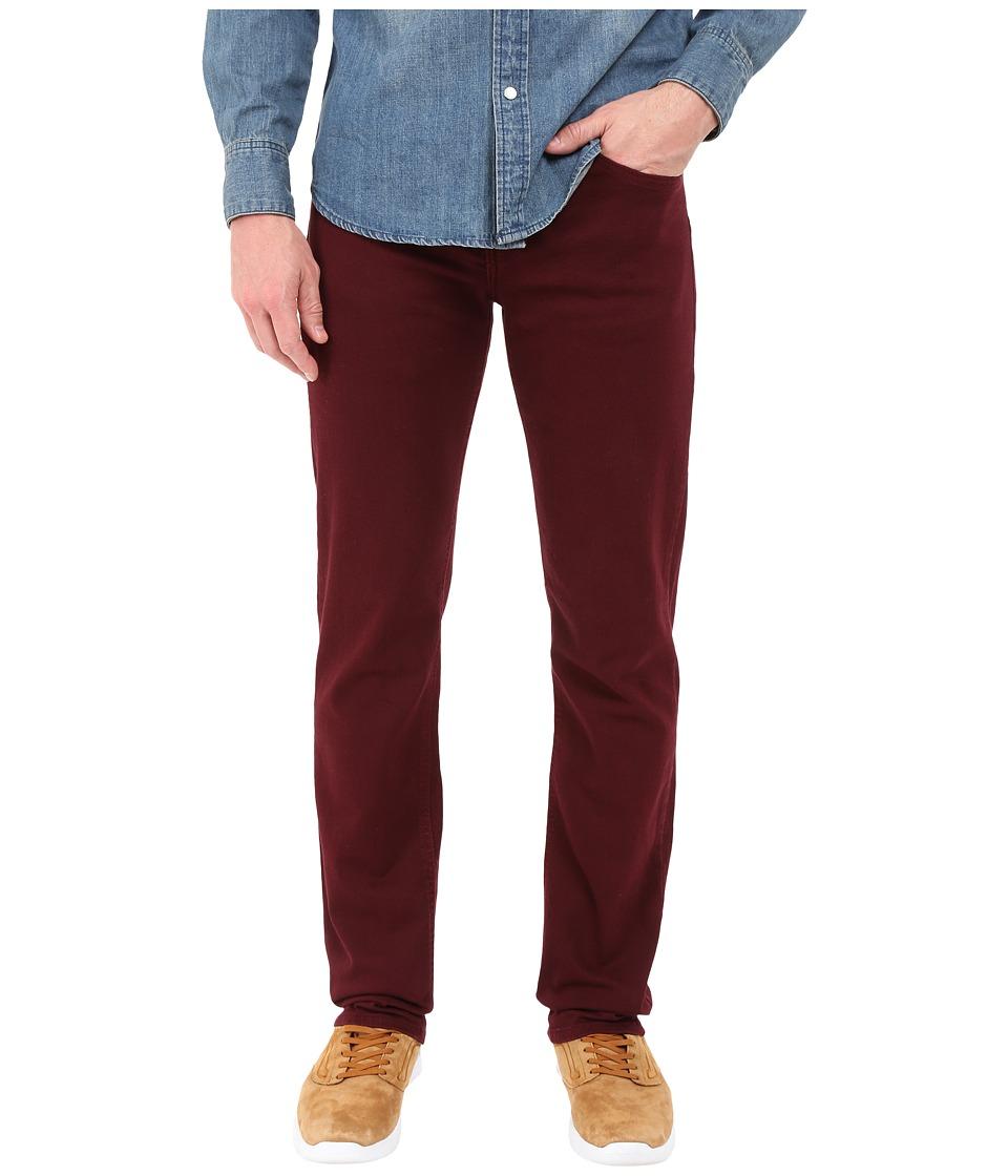 Rustic Dime Slim Fit in Vino Stretch Denim Vino Stretch Denim Mens Jeans