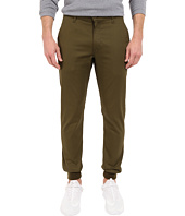 Rustic Dime - Sunset Jogger in Olive Stretch Twill