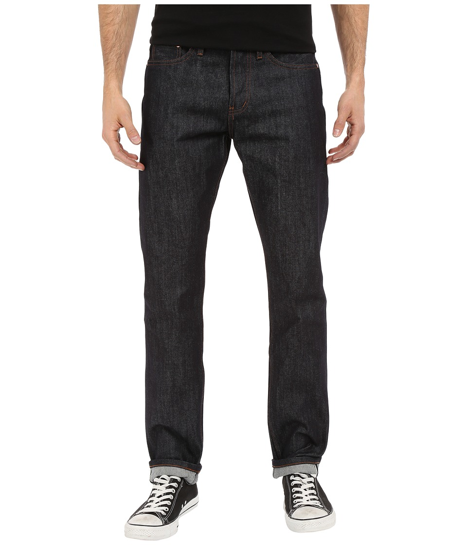 The Unbranded Brand Tapered in Indigo Selvedge Indigo Selvedge Mens Jeans