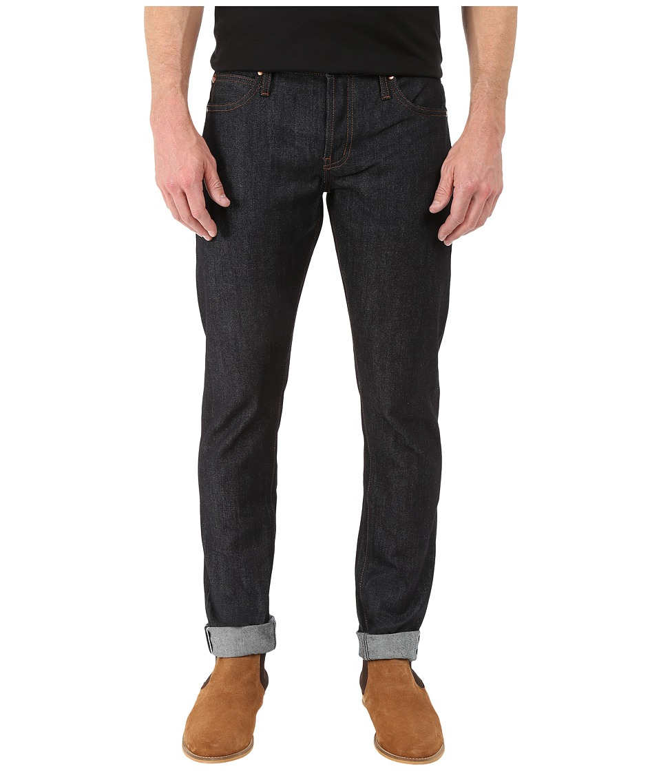 The Unbranded Brand Tight in Indigo Selvedge Indigo Selvedge Mens Jeans
