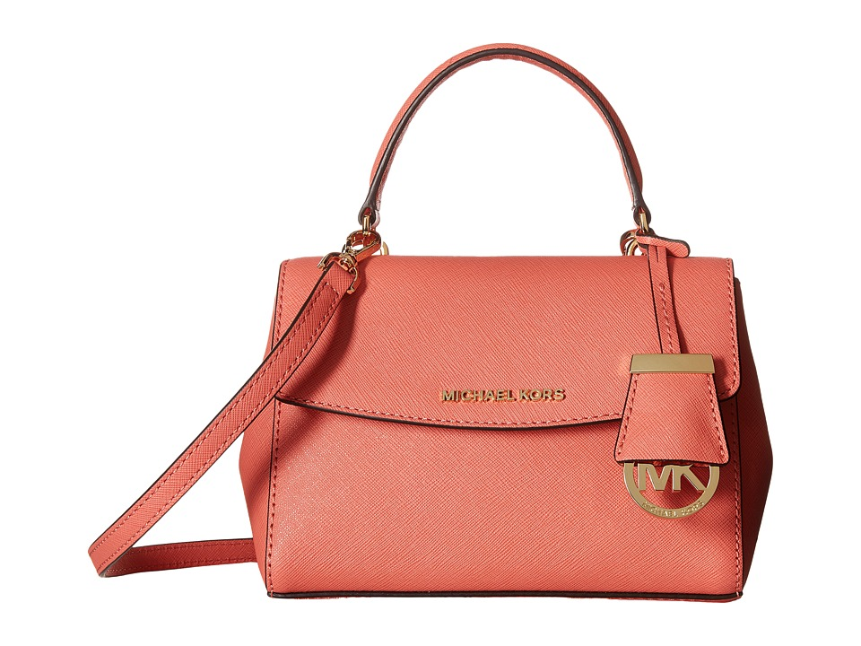 MICHAEL Michael Kors - Ava Extra Small Crossbody (Pink Grapefruit) Satchel Handbags