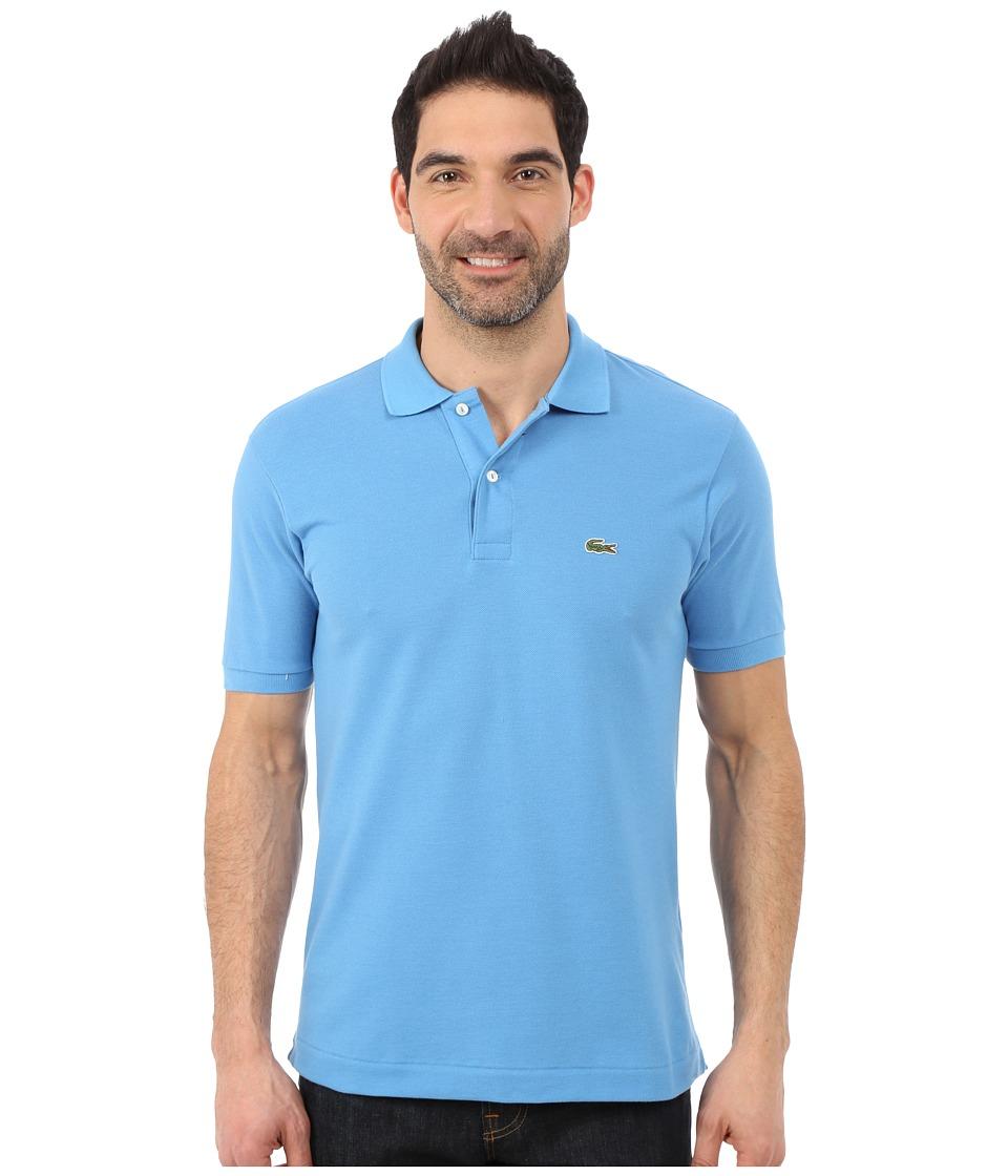 Lacoste - L1212 Classic Pique Polo Shirt (Spa Blue) Men