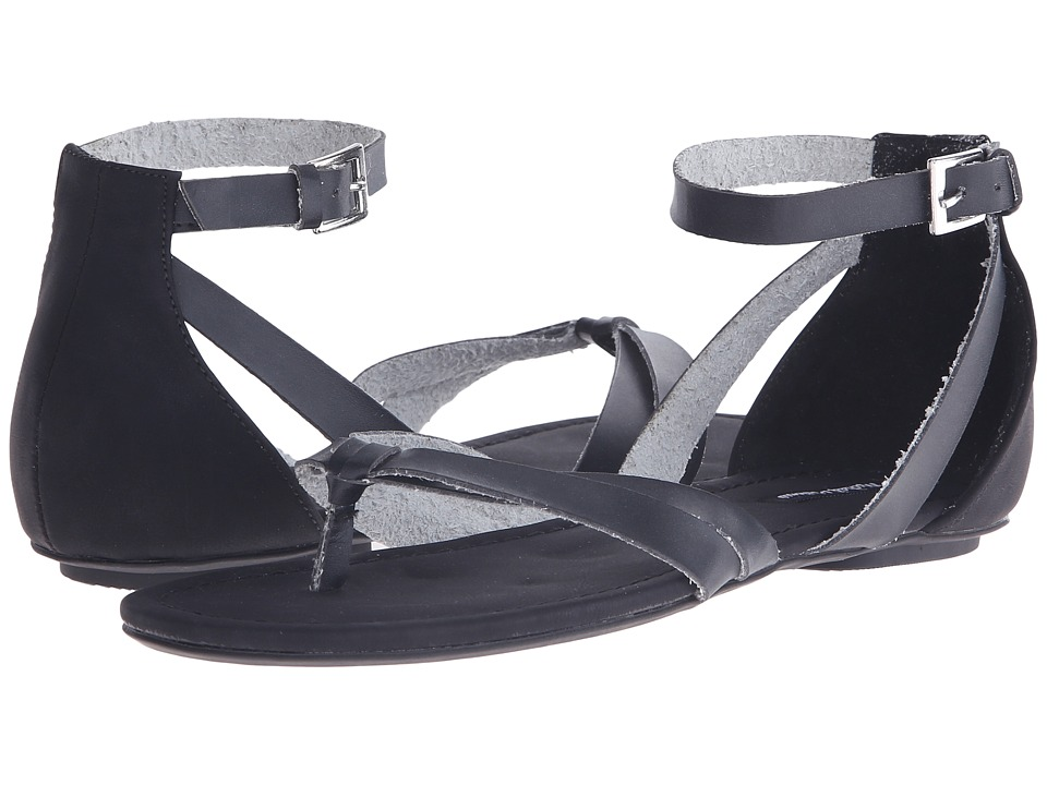 Michael Antonio Daft Black Womens Sandals