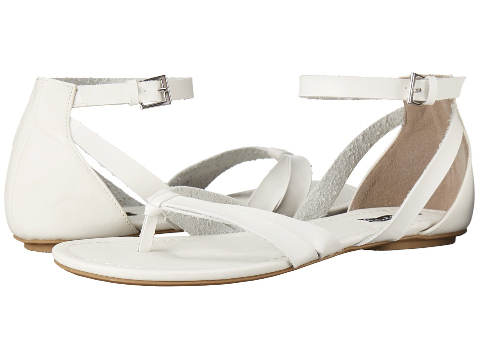 Michael Antonio Daft White Womens Sandals