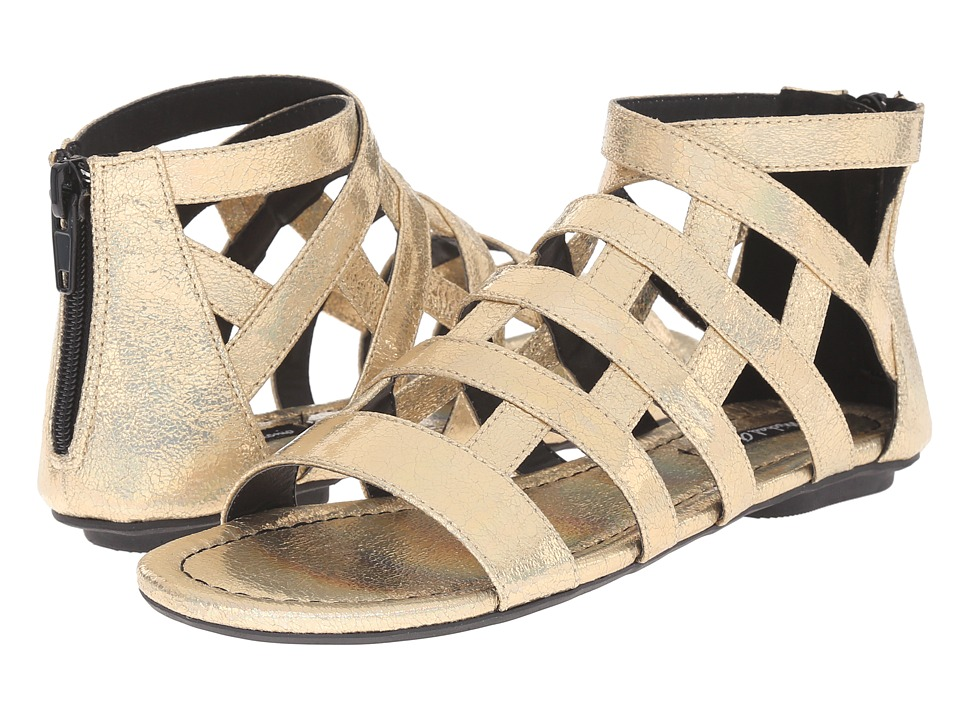 Michael Antonio Deron Gold Womens Sandals
