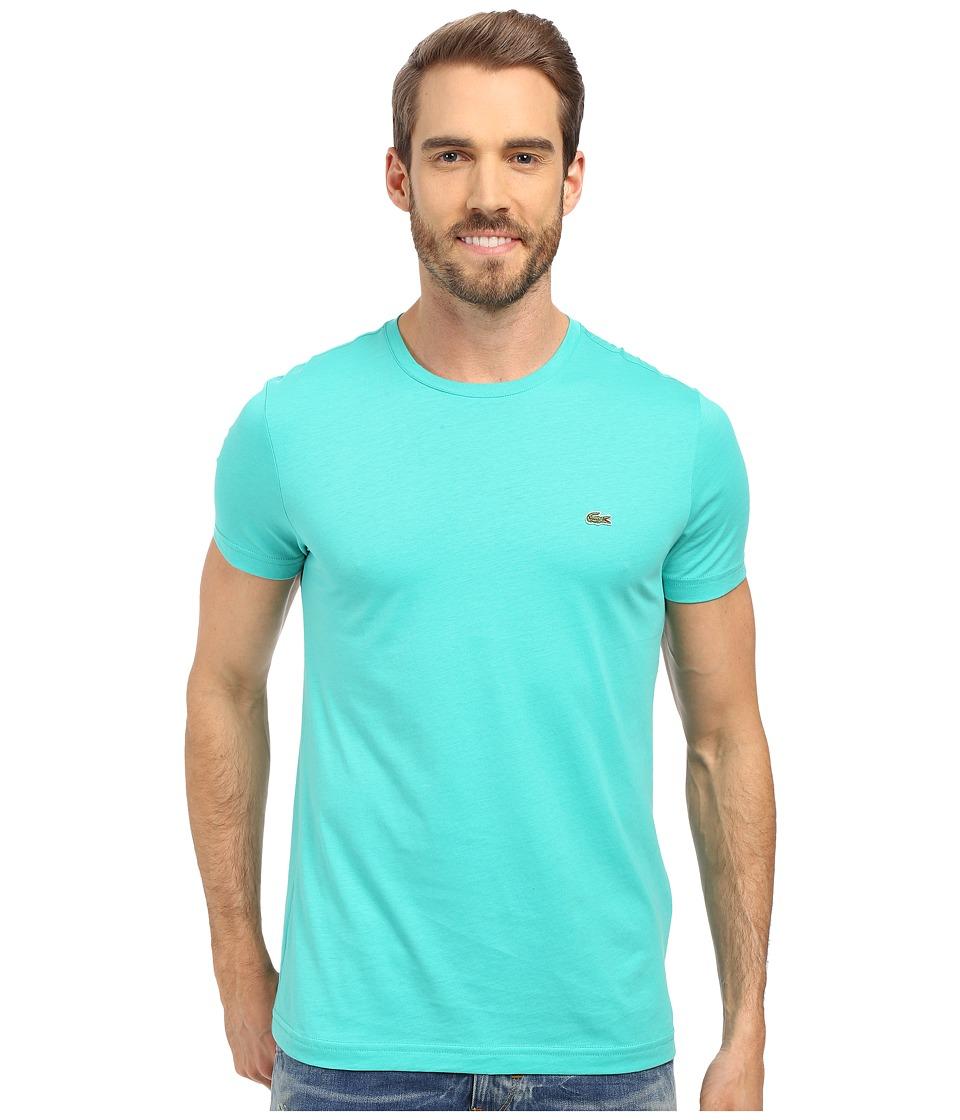 Lacoste - Short-Sleeve Pima Jersey Crewneck T-Shirt (Papeete) Men