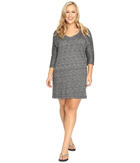 Soybu - Plus Size Rosa Dress (Black Heather) Women's Dress