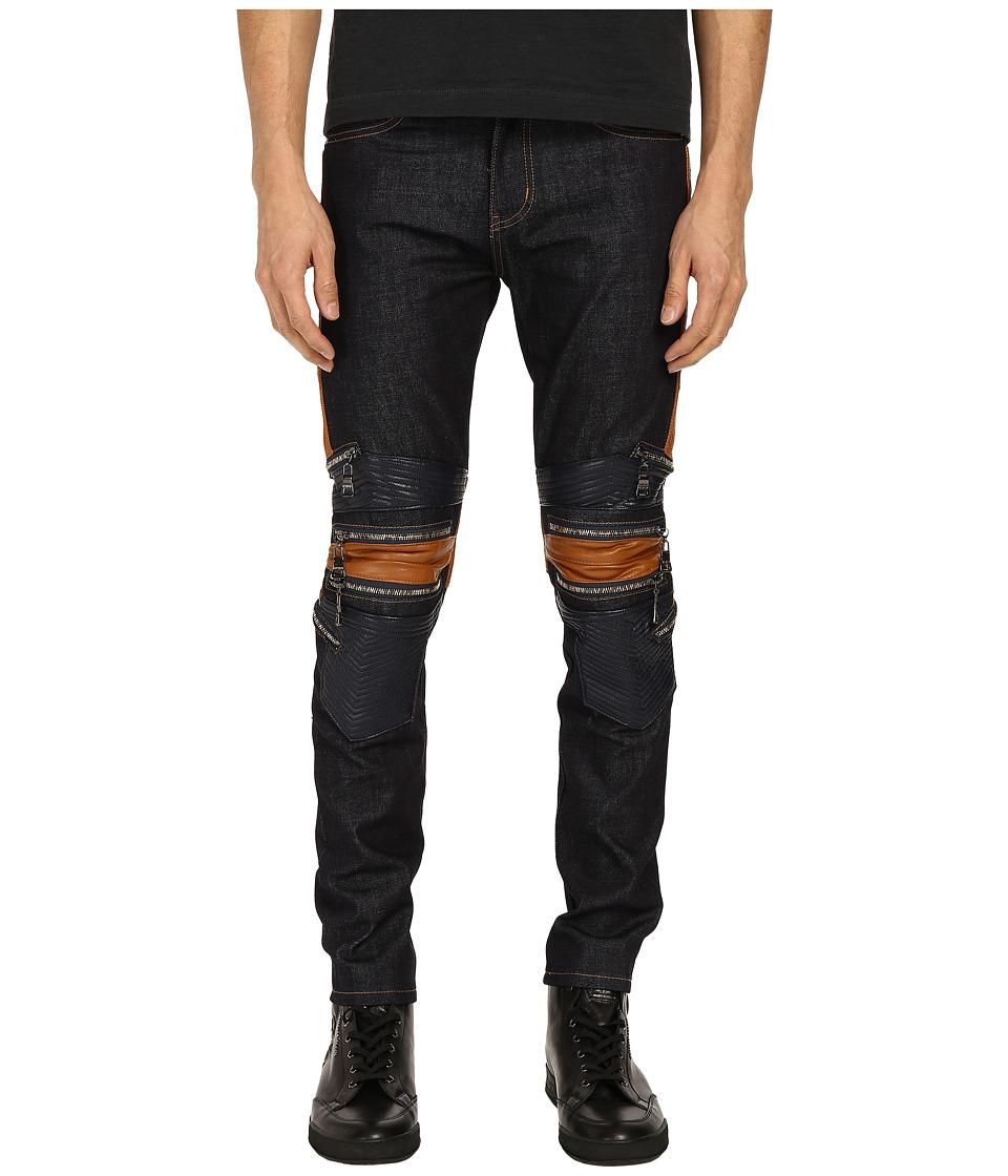 Gods Masterful Children Legna Biker Jeans Raw Indigo Mens Jeans