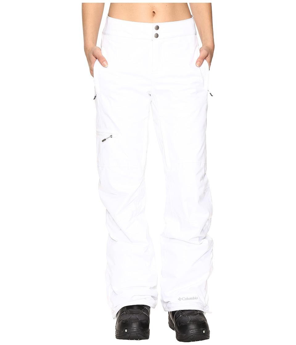 Columbia Veloca Vixen Pants (White) Women's Casual Pants