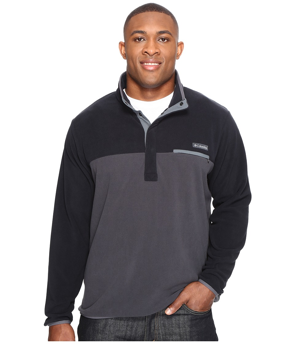 Columbia Mountain Side Fleece Jacket Tall (Black/Shark/Graphite) Men