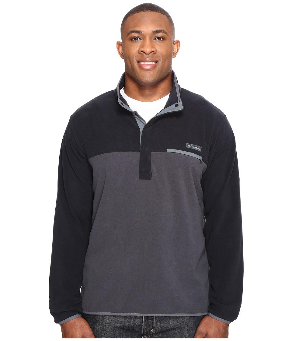 Columbia Big Tall Mountain Side Fleece Jacket (Black/Shark/Graphite) Men