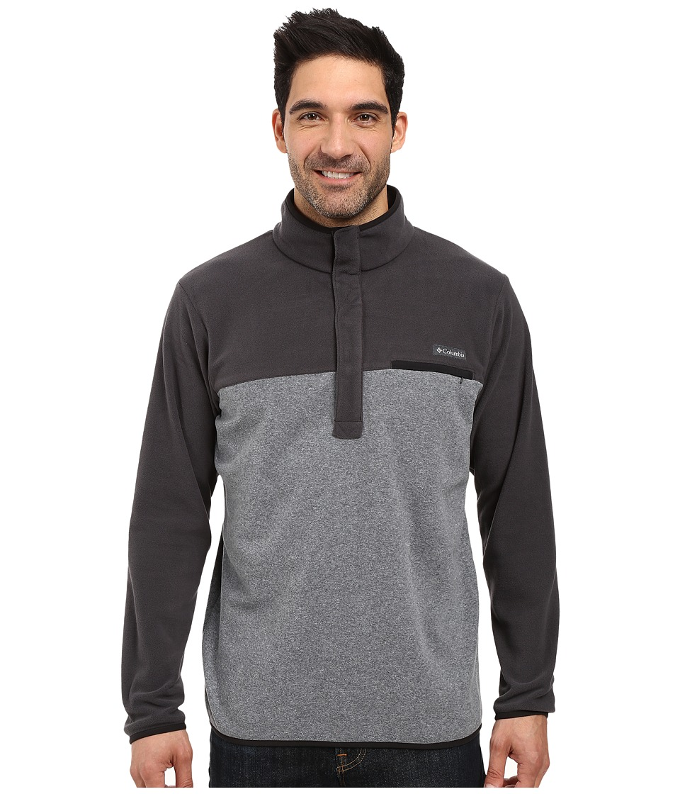 Columbia Mountain Side Fleece Jacket (Graphite Heather/Shark/Black) Men
