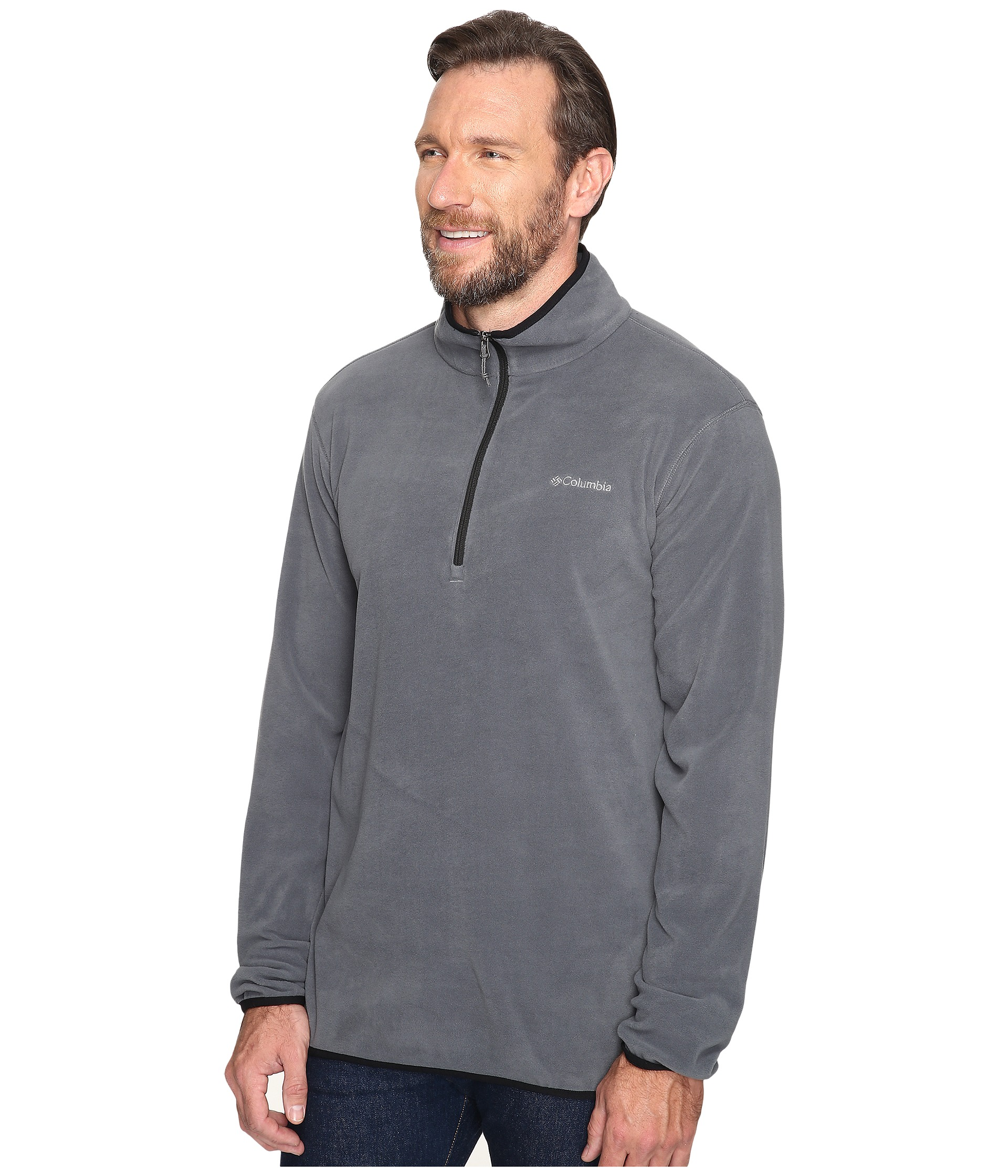 Columbia Big Tall Ridge Repeat 1 2 Zip Fleece At