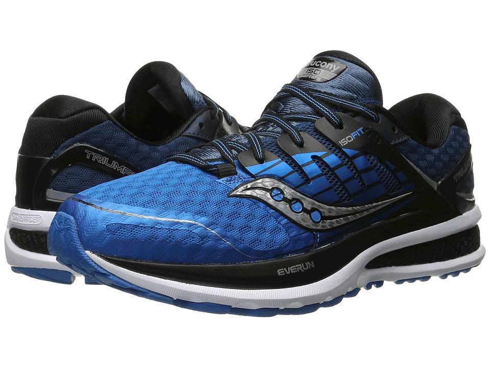 Saucony Triumph ISO 2 (Blue/Black/Silver) Men