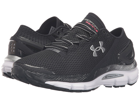 Under Armour UA Speedform Gemini 2.1 - Black/White/Metallic Silver