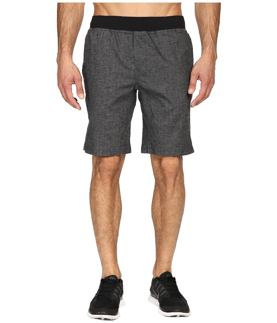 Prana Vaha Short (Black Herringbone) Men