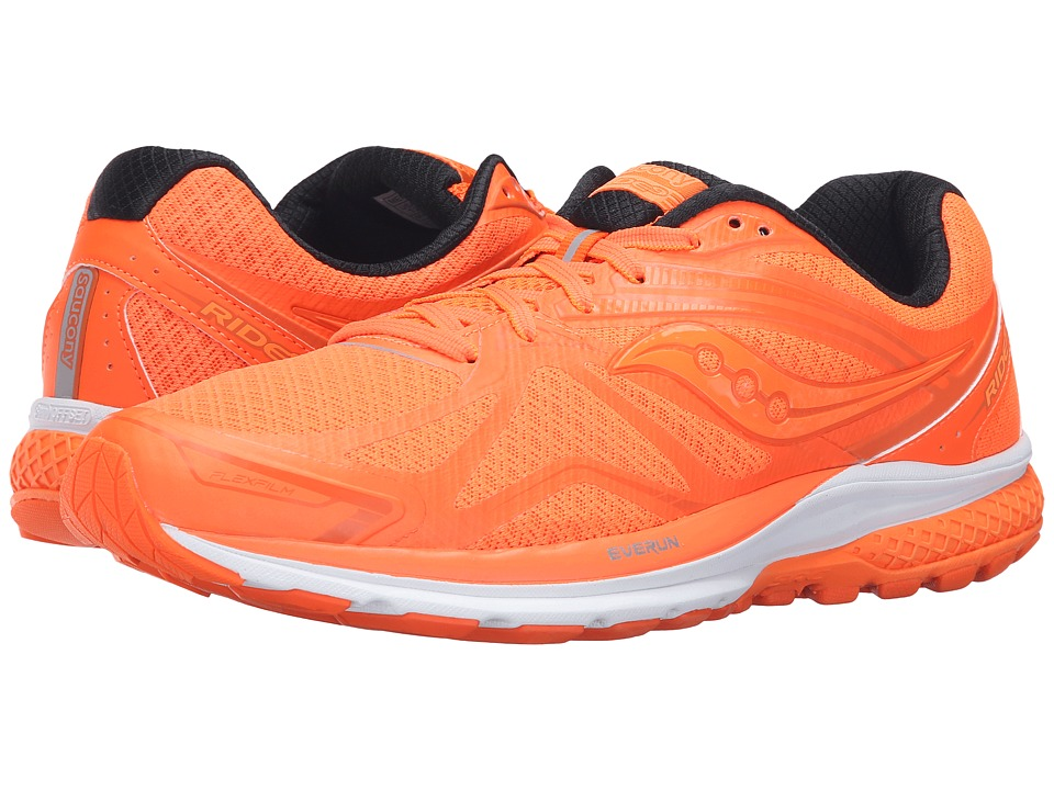Saucony - Ride 9 (Outkick Orange) Mens Running Shoes