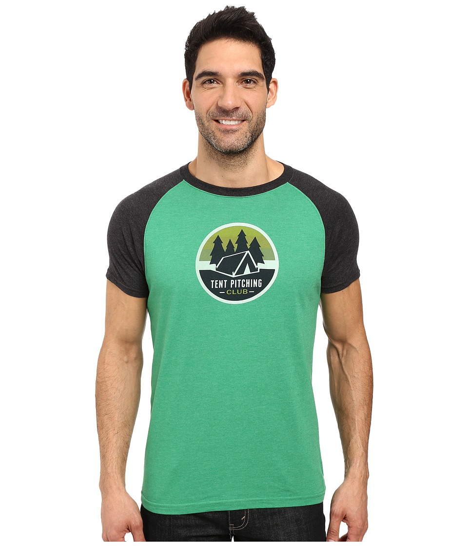 Prana Tent Pitch Club T-Shirt (Peacock Eye) Men