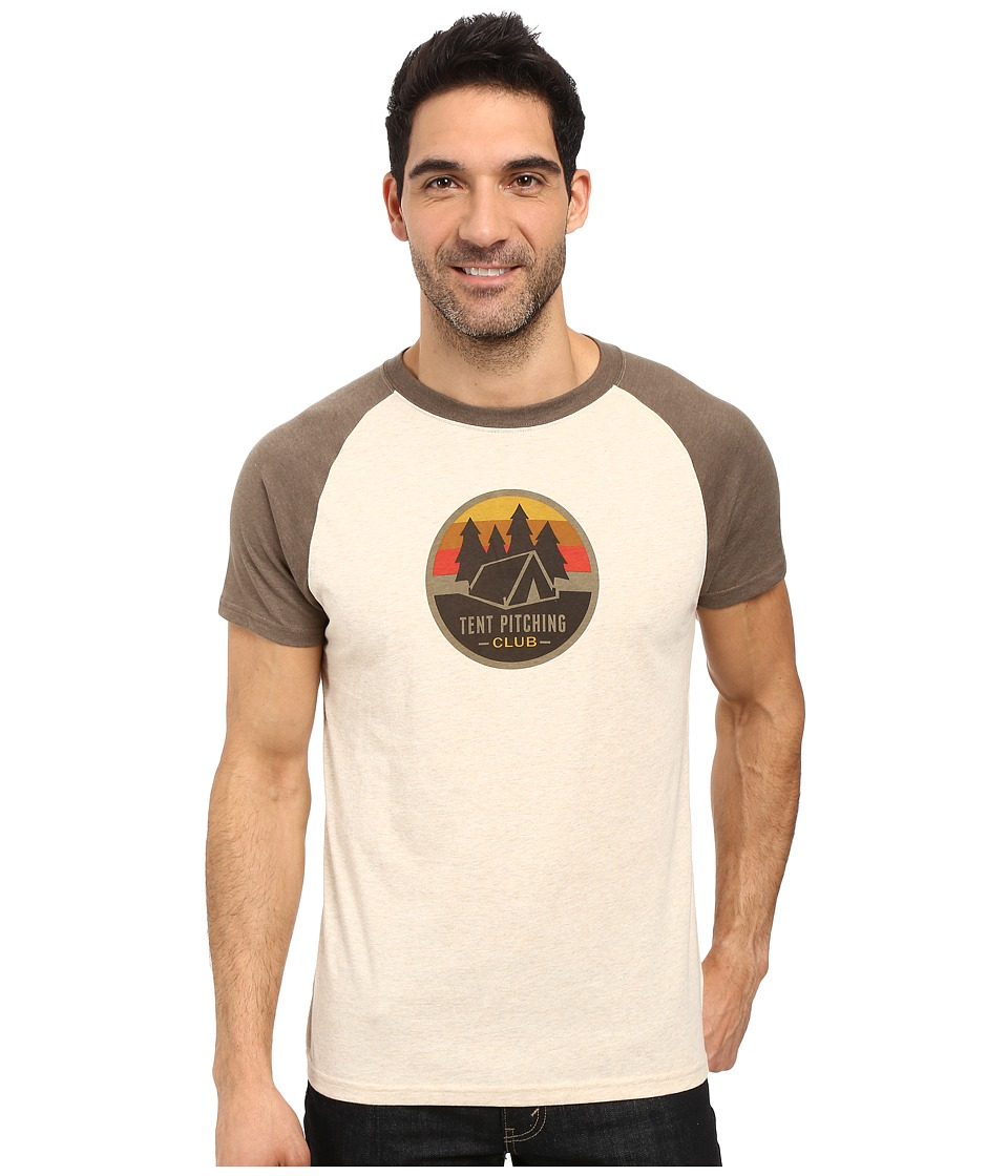 Prana Tent Pitch Club T-Shirt (Stone) Men