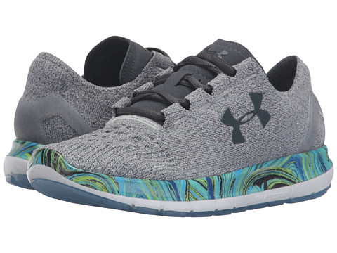 Under Armour UA Speedform Slingride Psychedelic - Overcast Gray/Meridian Blue/Stealth Gray
