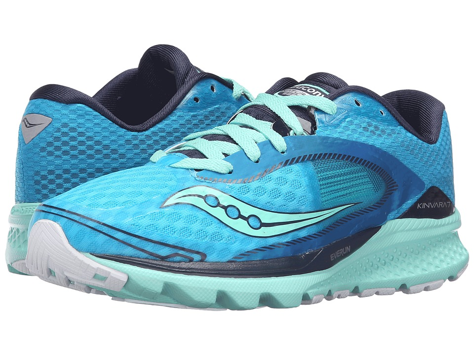 Saucony - Kinvara 7 (Teal/Navy/Silver) Womens Shoes