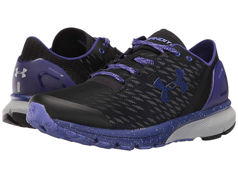 Under Armour UA Charged Bandit 2 Night - Black/Grape Fusion/Grape Fusion