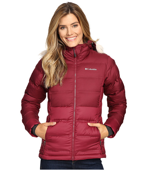 Columbia North Protection Hooded Jacket - Chianti
