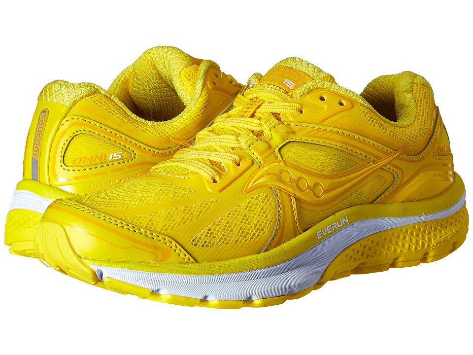 Saucony Omni 15 (Long Run Lemon) Women