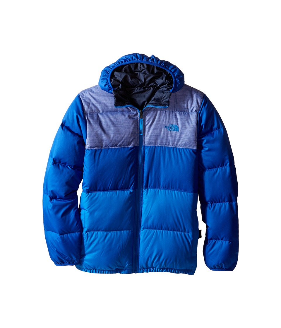 The North Face Kids Reversible Moondoggy Jacket (Little Kids/Big Kids) (Honor Blue) Boy